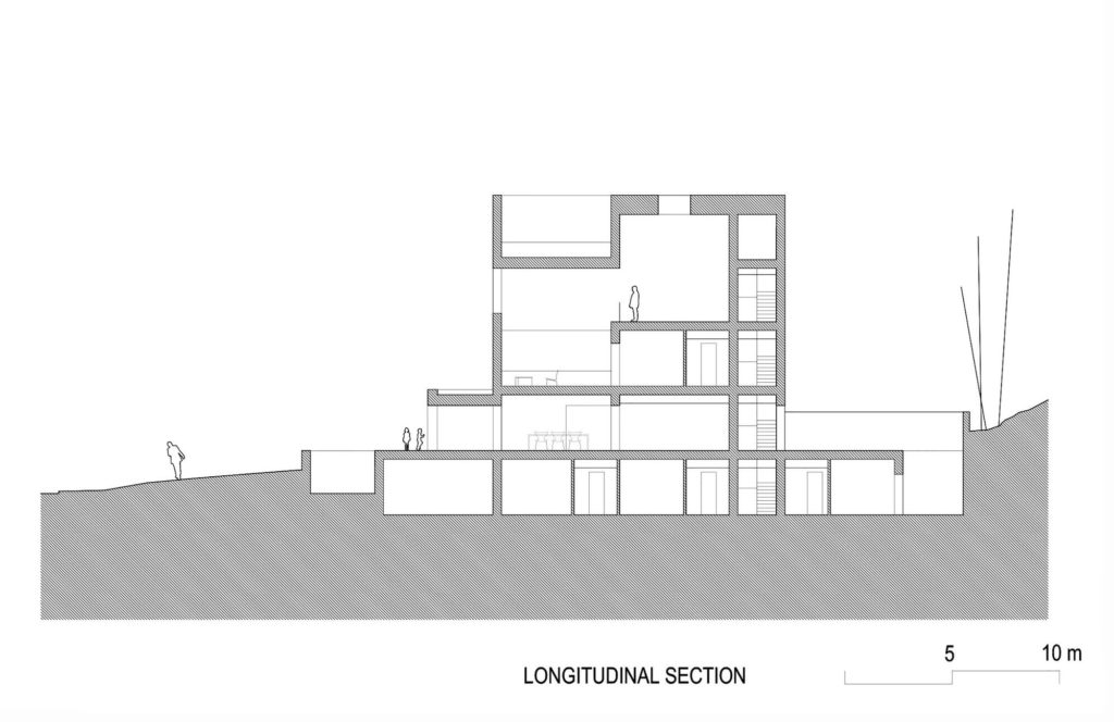 Casa Raumplan 02 Long section