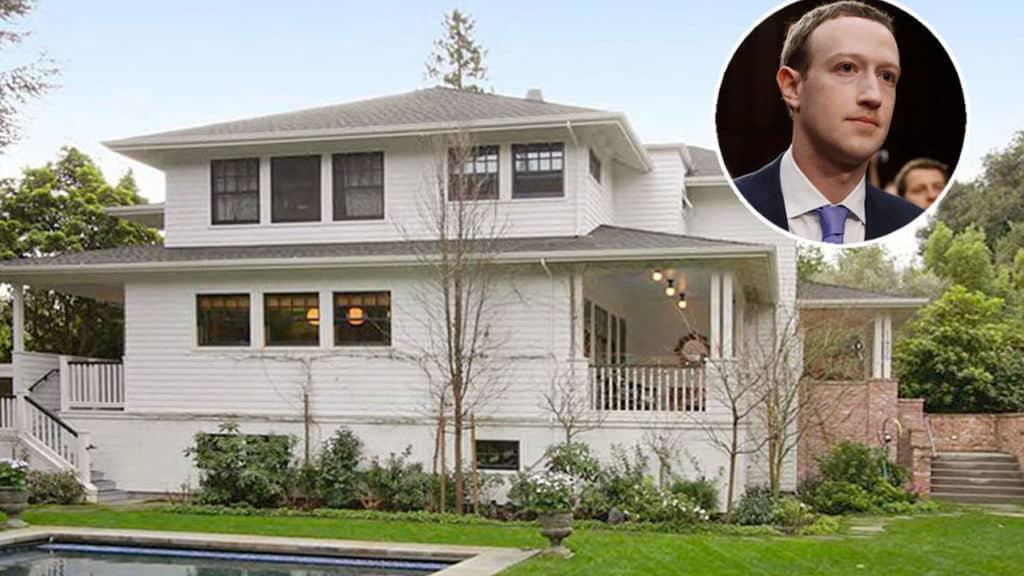 Casas de famosos Mark Zuckerberg Facebook California Fortuna Celebrities 299483508 73716761 1024x576