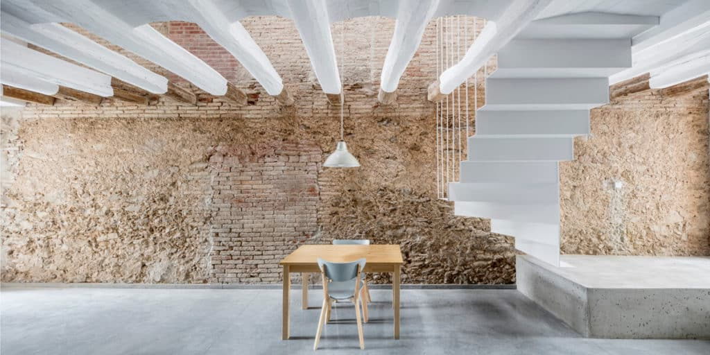Sobre arquitectura e interiorismo