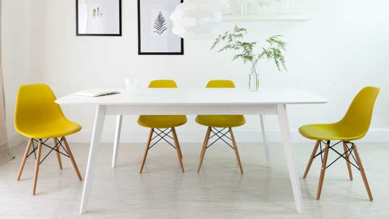 DQarquitectura muebles antiguos que parecen modernos silla eames