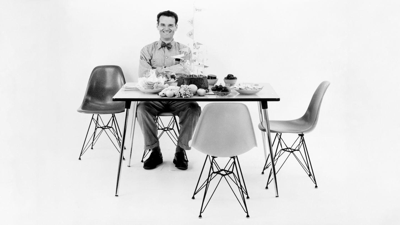 Silla Eames, plastic chair, charles eames