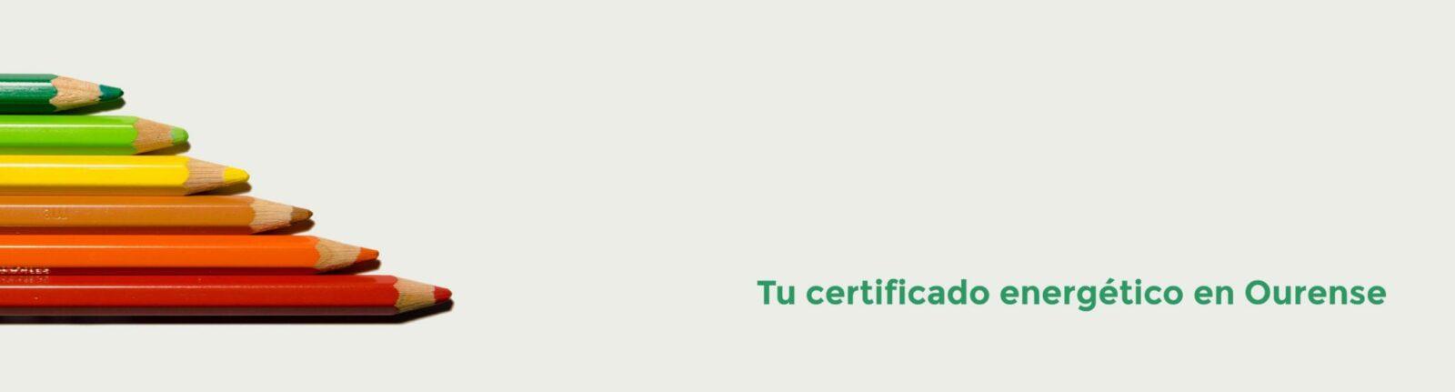 certificado energetico ourense informacion