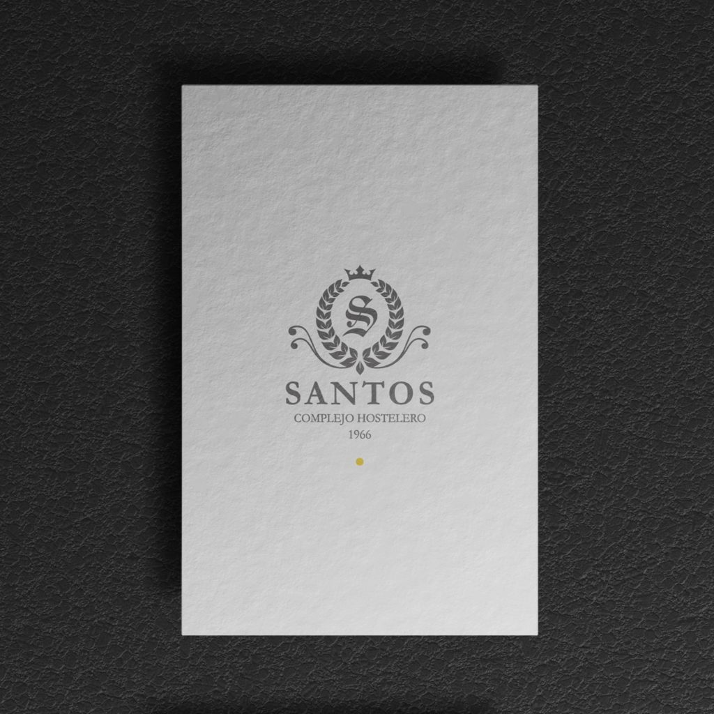 dqarquitectura diseño de tarjetas complejo hostelero santos ourense 1