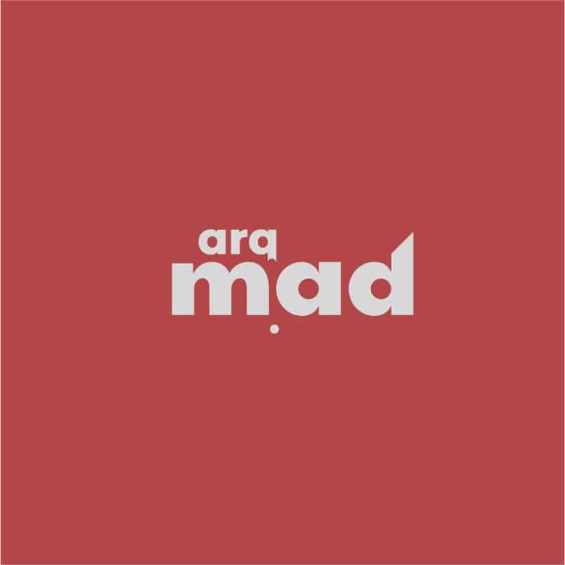 dqarquitectura diseno grafico logo arqmad
