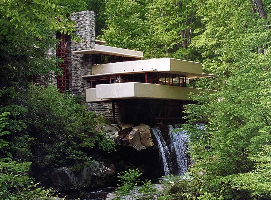 como diseñar una vivienda - casa de la cascada