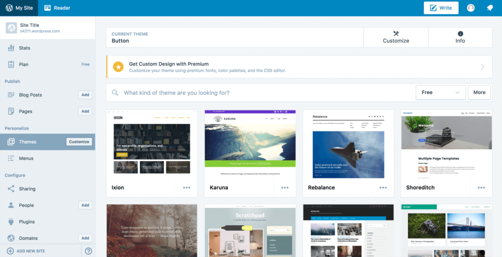 interfaz-wordpress-COM