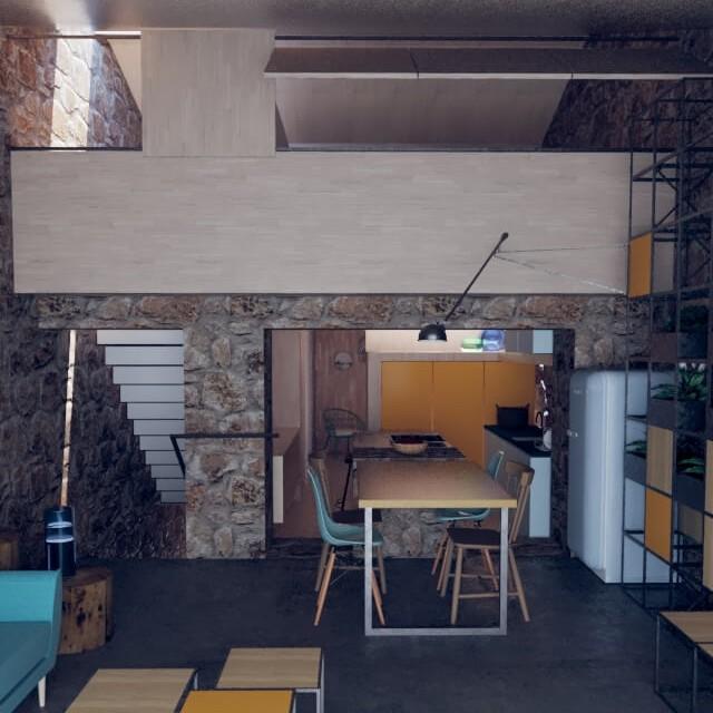 Rehabilitación de vivienda en Seixalbo - Ourense