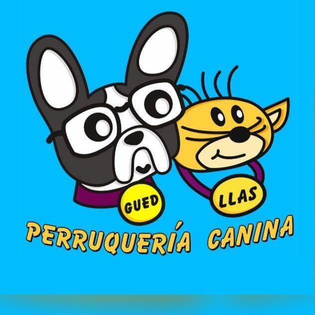 logotipo antiguo peluqueria canina