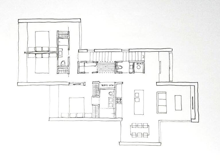 plano-vivienda-para-terreno-en-pendiente-