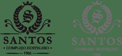 Logotipo Santos complejo hostelero