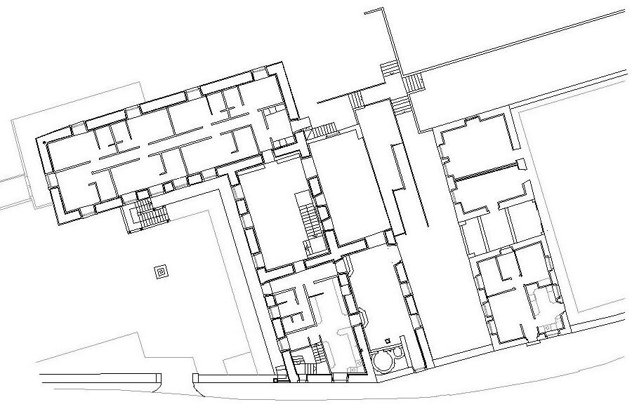 dqarquitectura-arquitectura-paisaje-proyecto-rehabilitación-pazo-de -piedra-ourense-estado-actual-planta-alta