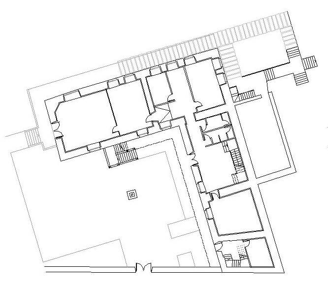 dqarquitectura-arquitectura-paisaje-proyecto-rehabilitación-pazo-de -piedra-ourense-estado-actual-planta-baja