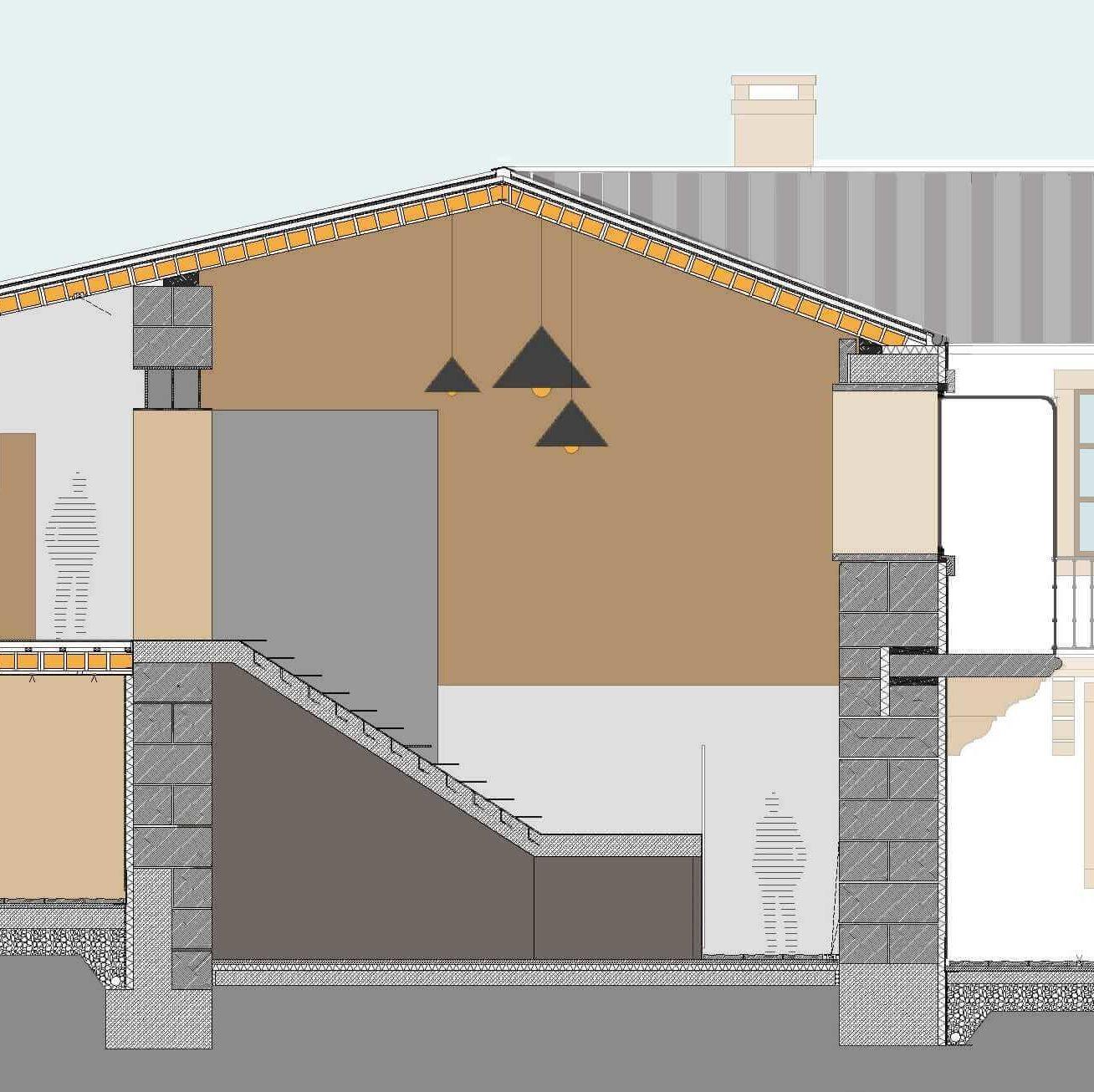 Rehabilitar casa de piedra en ruinas proyecto