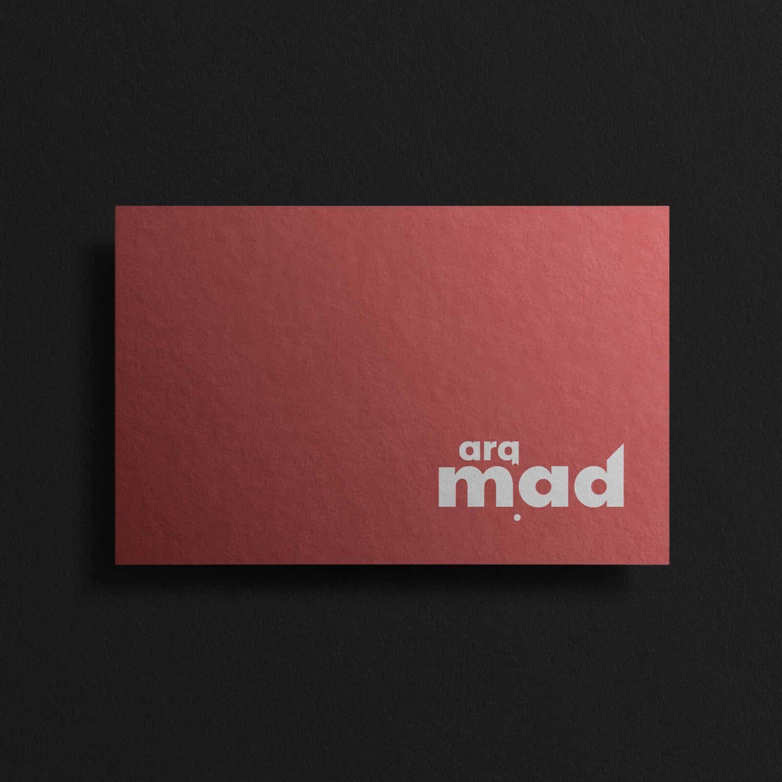 diseño grafico ourense diseño tarjeta corporativa arqmad