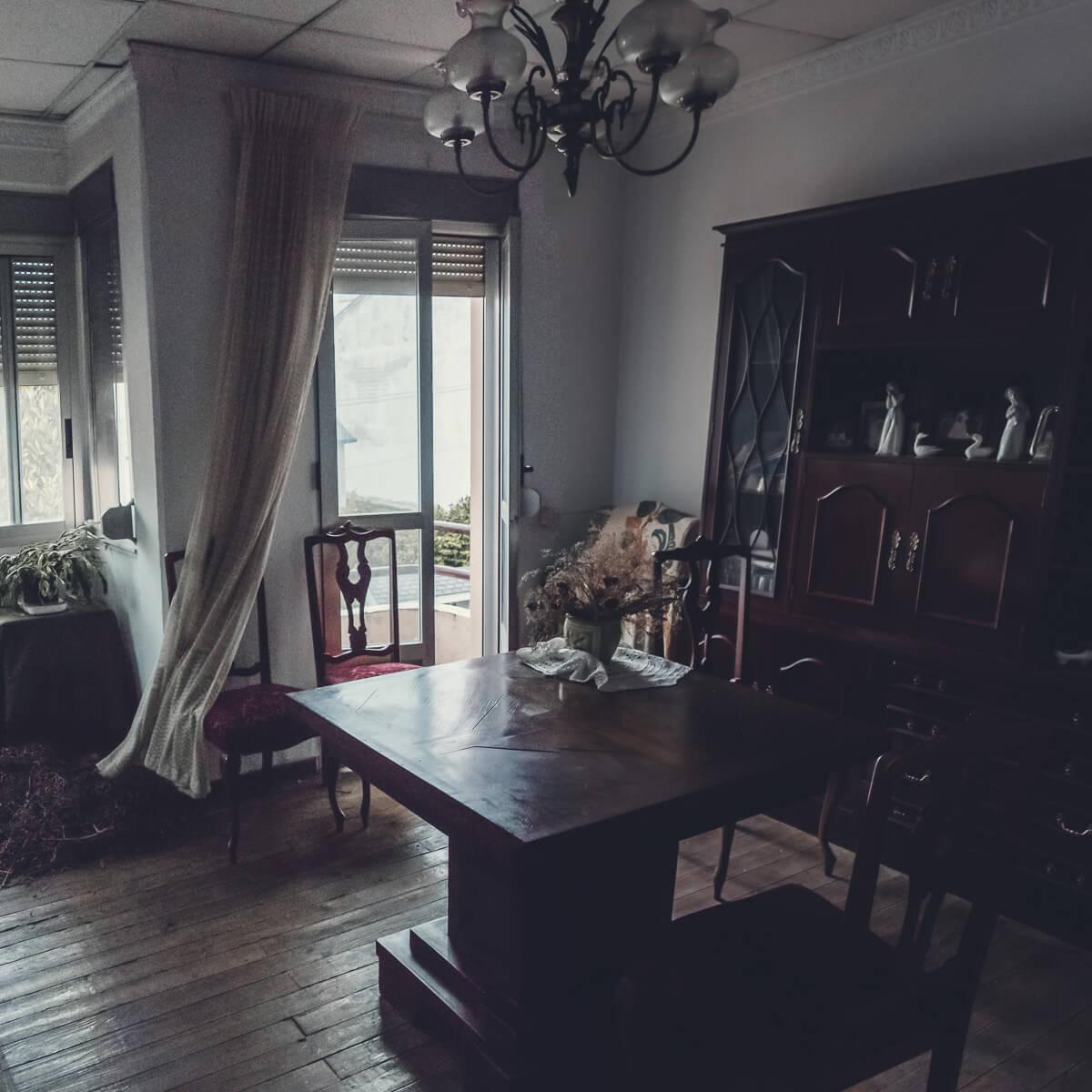 Vista del salón superior