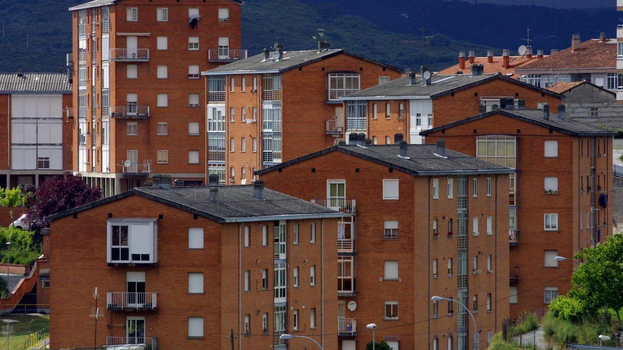Barrocas, edificios de ladrillo visto