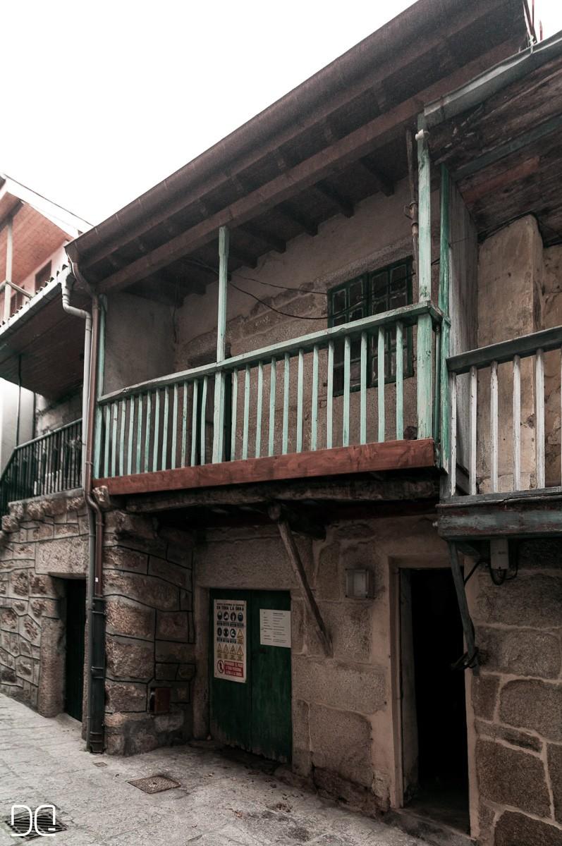 Rehabilitacion de casa de piedra, fachada norte