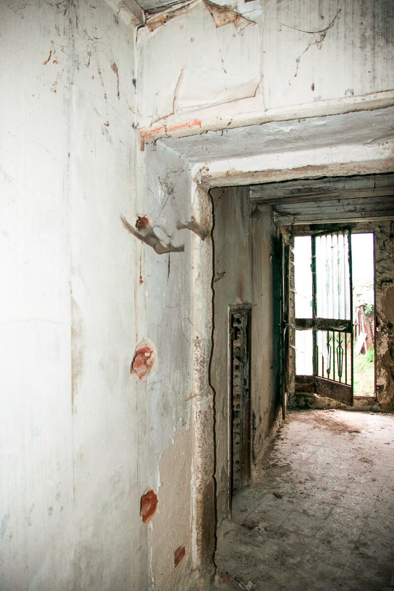 Rehabilitacion de vivienda en Seixalbo, vista hacia parcela