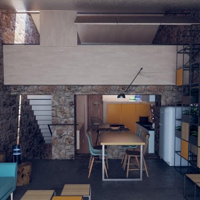 Rehabilitacion de casa de piedra en Seixalbo