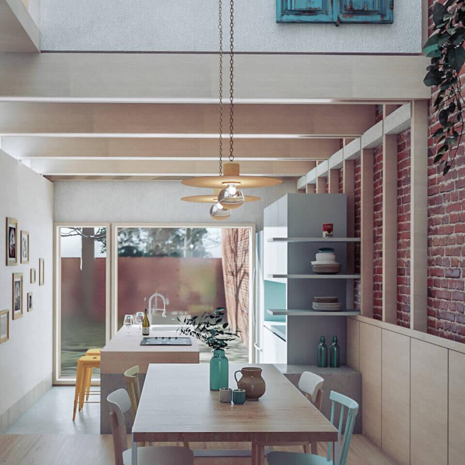 Rehabilitación de vivienda en Monforte de Lemos Lugo