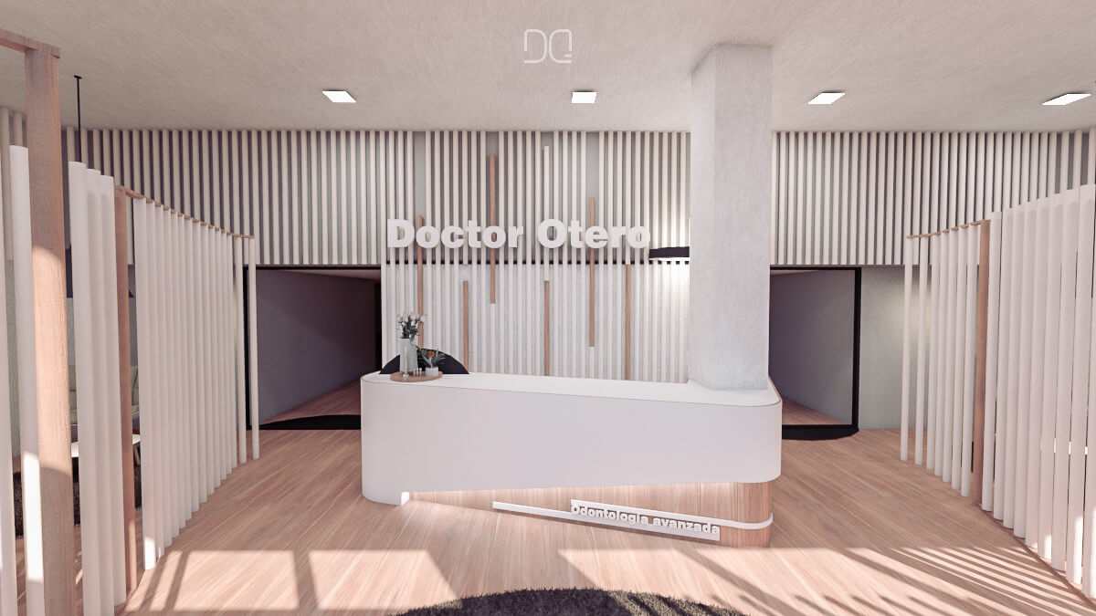 Interiorismo clinica dental dr otero lugo