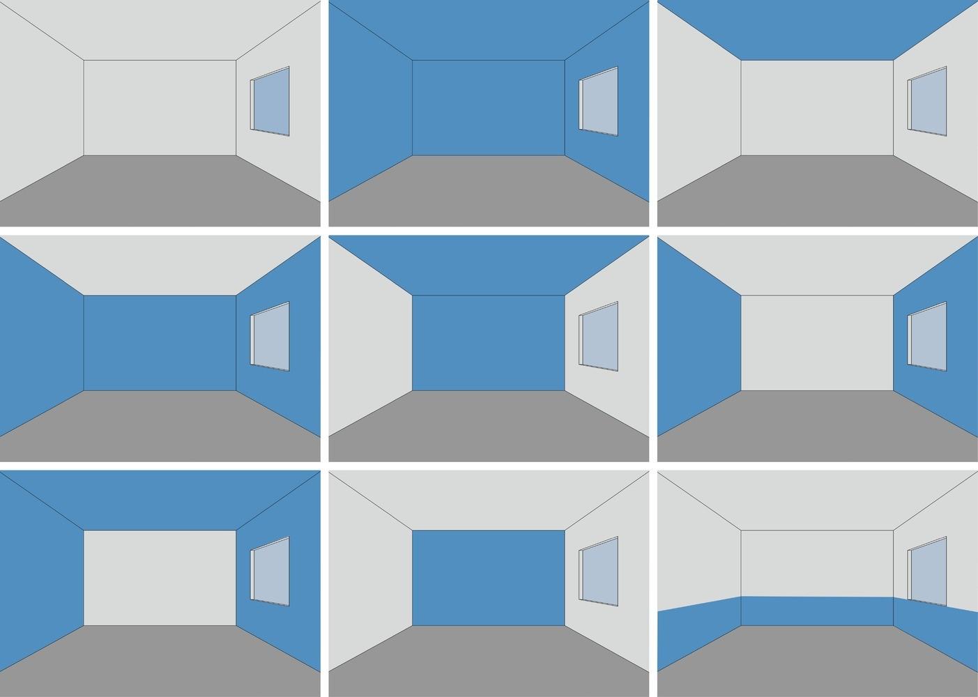 psicologia del color en pisos pequeños